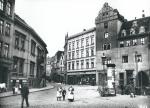 Halle (Saale) – Blick vom Alten Markt in die Schmeerstraße