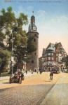 Halle a. S. Leipziger Turm v. d. Poststrasse aus gesehen