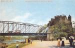 Halle a. S. Burg Giebichenstein u. Cröllwitzer Brücke