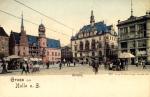 Gruss aus Halle a. S. Marktplatz