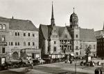 Halle (Saale) - Wagegebäude und altes Rathaus