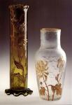Stangenvase und Vase