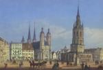Martplatz in Halle an der Saale