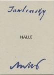 Jawlensky – Halle – Antes