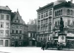 Halle (Saale) – Markplatz mit Händel-Denkmal